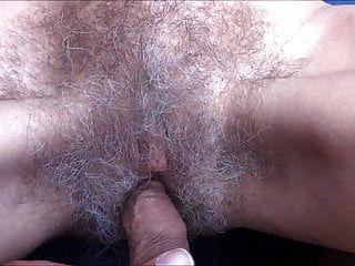 abuelita con fantastico coño peludo