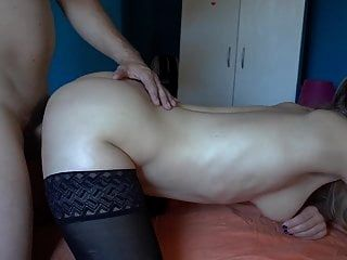 Sexo anal, gran carga, corrida, mamada, chica maravillosa