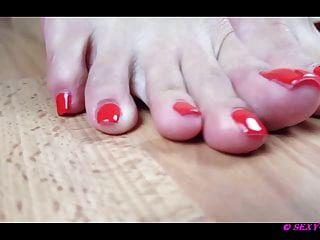 lena sexy y sus hermosos pies