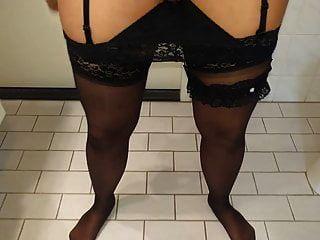 mi creamie flujo vaginal húmedo y sucio pantie después del trabajo