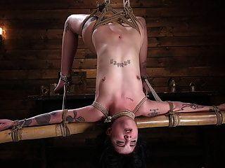 Gran botín tatuado babe atormentado y hecho para cum