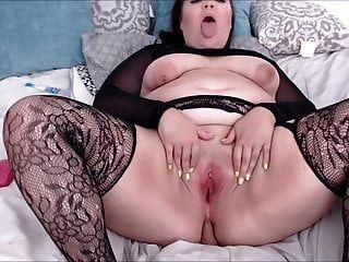 gran culo sexy en consolador de equitación de red