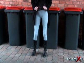 Girls Pissing Pants In Public